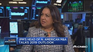 JP Morgan's head of US M&A: Finance industry is ripe for deals