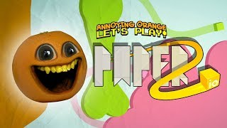 Annoying Orange Eats Everyone!!! [PAPER.io 2]