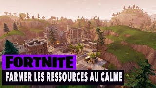 FORTNITE - Save THE WORLD - FARMER RESOURCES IN CALM!