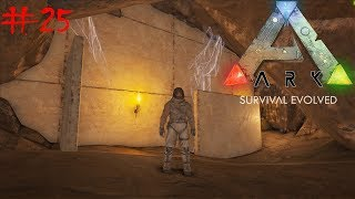 ARK  Survival Evolved Ragnarok #25 -Il Mistero del tempio nel Deserto  e L'alligatore - Gameplay ITA