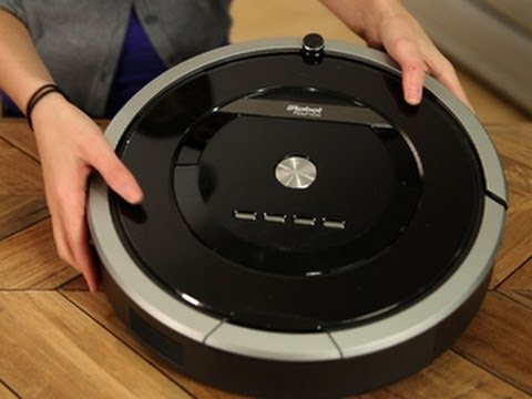 iRobot\'s new 800 series robot vacuum: iRobot Roomba 880 - YouTube
