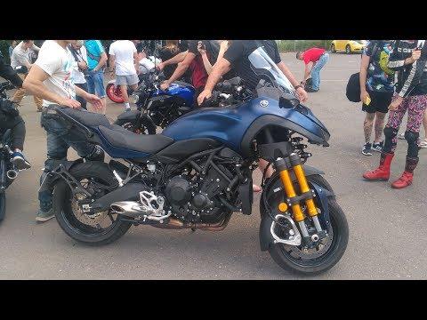 Yamaha Niken GT. Трехколесная диковинка (тест-драйв)