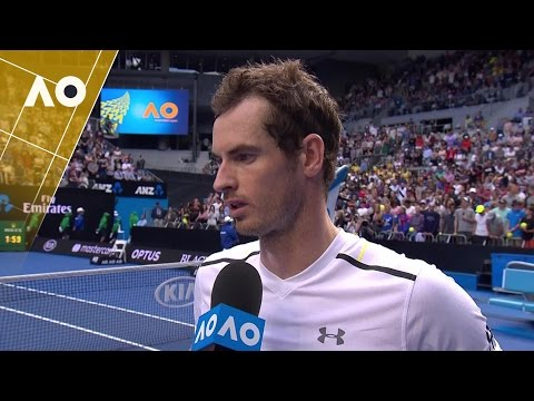 Andy Murray on court interview (3R) | Australian Open 2017