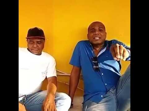Chawala y leo Iriarte anunciando el vol 59 del rey de rocha