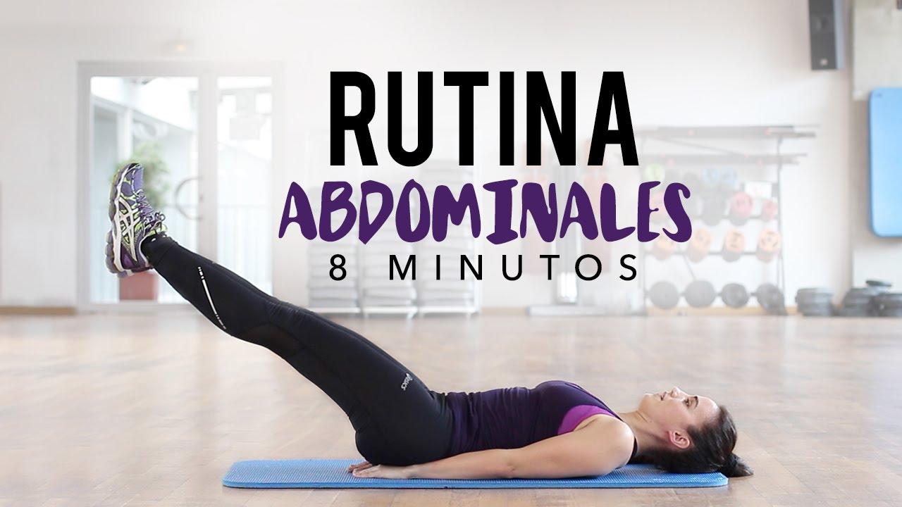 abdominales serie de ejercicios