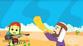 Joshua Fought The Battle Of Jericho I Bible Rhymes Collection For Children| Holy Tales Bible Songs