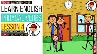 Скачать Illustrated Phrasal Verbs 4 Topic A Place Of Your Own