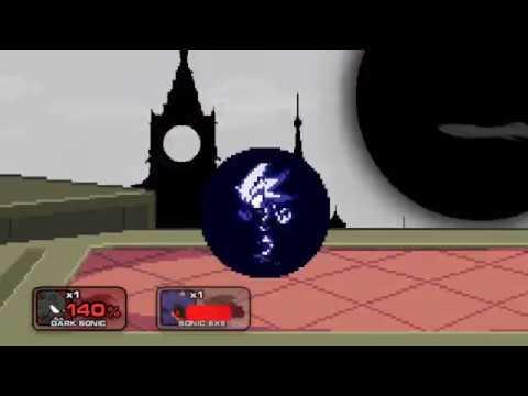 Dark Sonic vs Sonic exe: SS2 MOD - Смотреть видео бесплатно