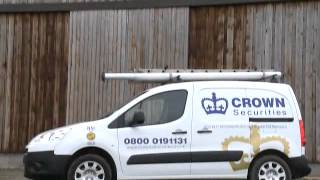 Burglar Alarms & Security Systems Crawley - Crown Securities (UK) Ltd