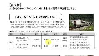 【今年のGWは10連休!!】JR東日本春の臨時電車を見てみた