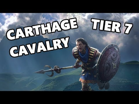 Total War ARENA - Struggles With The Tier 7 Carthage Cavalry - Hasdrubal Gameplay
