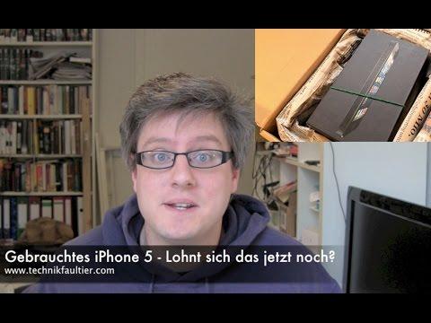 Gebrauchtes iPhone 5 - Lohnt sich das jetzt noch?