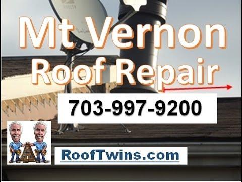 Mount Vernon Roof Repair | 703-997-9200 | Roof Twins