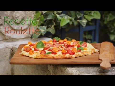 Pizza tomate et mozzarella !