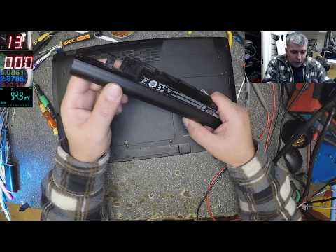 How we can Test, Charge and Diagnose a Laptop Battery, Medion Laptop, dead, no power or charging