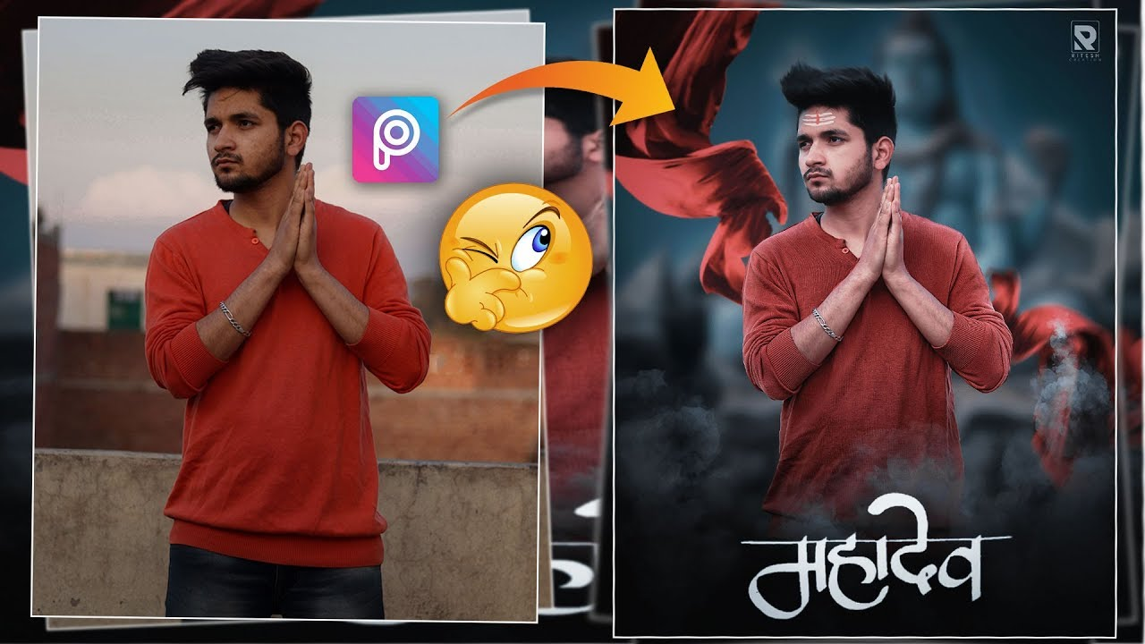 MAHADEV - Picsart Shivratri Special Editing    Maha Shivratri CB Editing in  PicsArt in Hindi