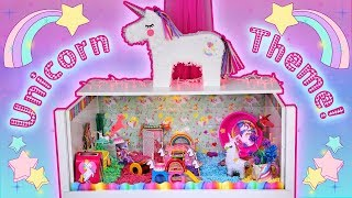 Wooo, colorful! ✨ The Unicorn themed hamster cage, shown in this vi...