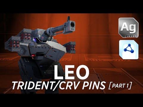 Leo Trident/CRV Pins - War Robots - Gameplay (Springfield) - Part 1