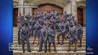 West Point's Largest Class Of Black Women | The View