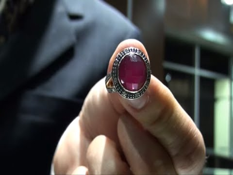 Inherited Vintage Estate 10.15 ct Ruby & Diamond  Ring 14kt  Gold on eBay $1 NO RESERVE