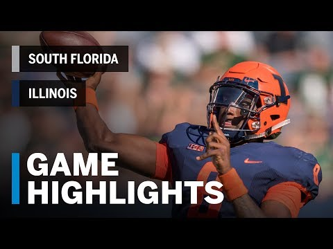 Highlights: South Florida Bulls vs. Illinois Fighting Illini | Big Ten Football