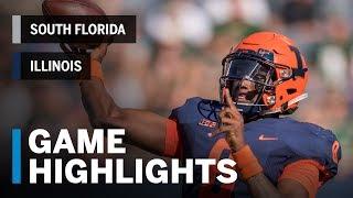 Highlights: South Florida Bulls vs. Illinois Fighting Illini | Big Ten Football