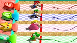 Mario Party 4 - All Tricky Minigames