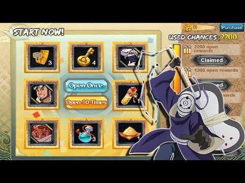 Naruto Online -  Great Plates 2200 Keys! + 20k Coupons Fuku Deals