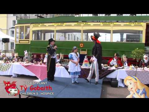 Alice in Wonderland's Birthday celebration Llandudno