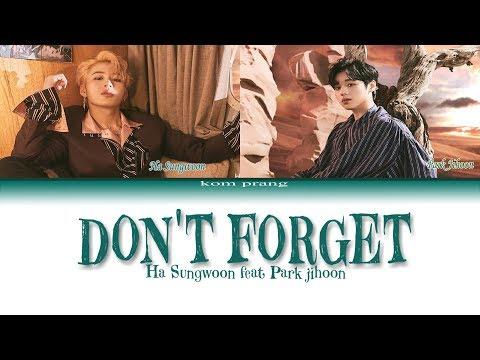 Free Download Ha Sungwoon [하성운] Feat Park Jihoon [박지훈] - Don't Forget (잊지마요) Color Coded Lyrics/가사 [han|rom|eng] Mp3 dan Mp4