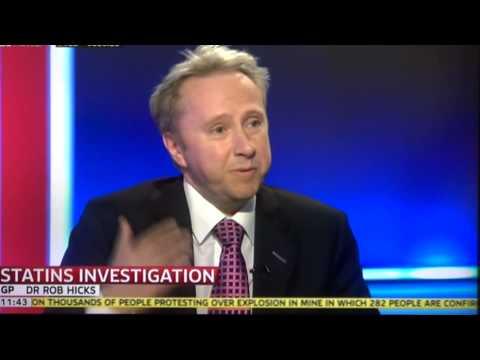 Dr Rob Hicks on Statins - Sky news