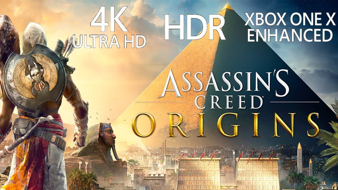assassins creed origins xbox one x 4k gameplay youtube. Black Bedroom Furniture Sets. Home Design Ideas