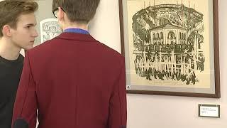 2018-01-31 г. Брест. Выставка «В поисках истоков - 2». Новости на Буг-ТВ. #бугтв