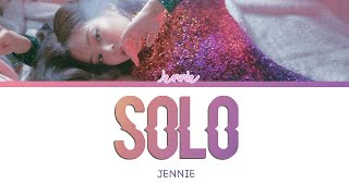 JENNIE - 'SOLO' [Han/Rom/Trans lyrics]