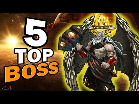 Top 5 Boss Aniversario - Mutants Genetic Gladiators
