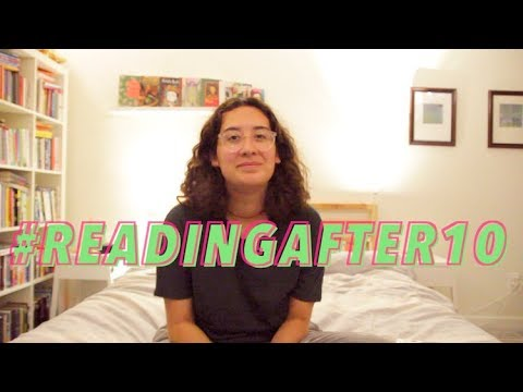 i tried reading before bed every day for a week