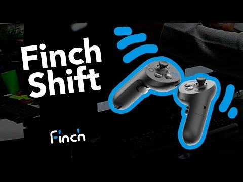Finch Shift: Motion Controller with body and hands tracking