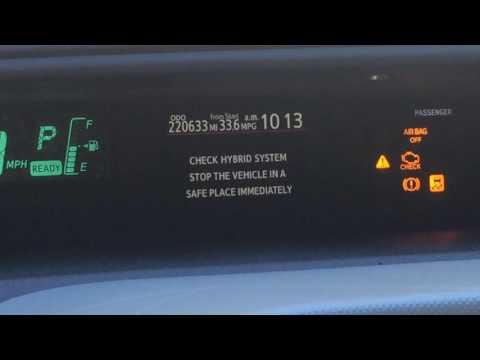 2012 Prius C 220,600 Miles Diagnoses. Hybrid System Failure
