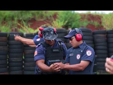 Conheça os Instrutores de tiros da Guarda municipal de Londrina