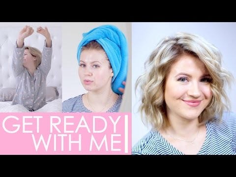 Short Hair Routine | Get Ready With Me | Milabu
