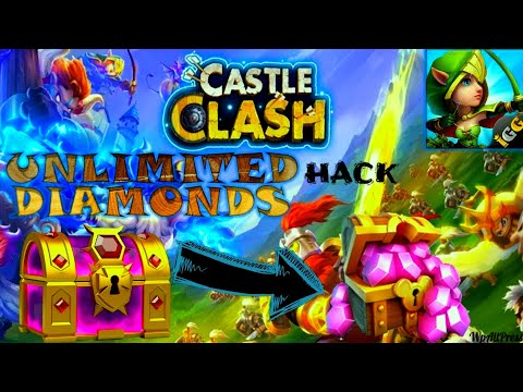 🦎Hacking Games Castle Clash On Endless Diamonds And Resources🦎