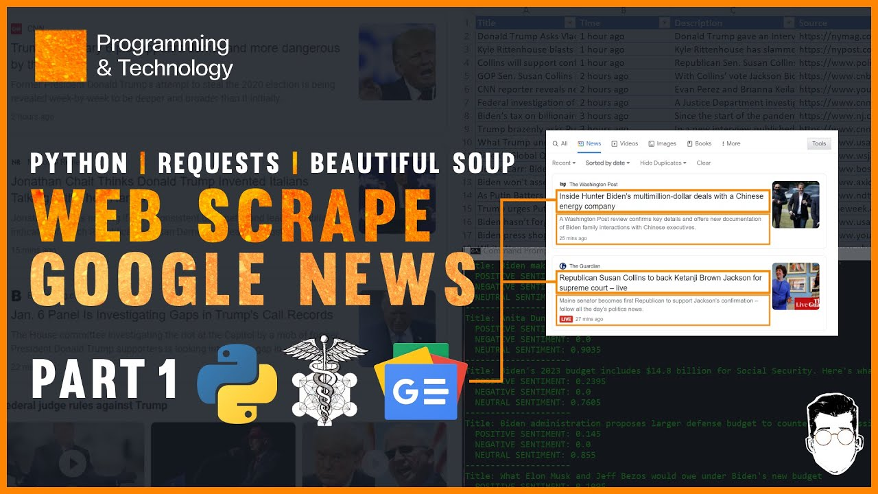 Download Web Scrape Google News with Python Requests and Beautiful Soup   Part 1