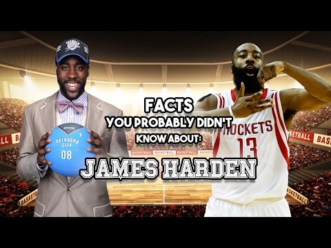 15 AWESOME Facts You Probably Didn't Know About James Harden