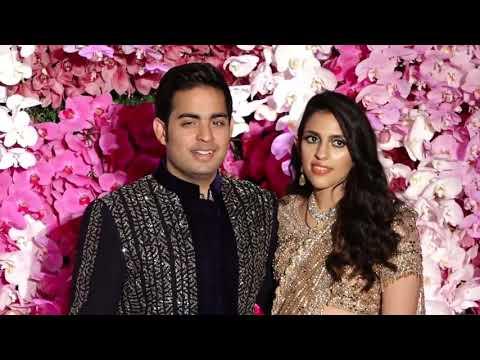 Akash Ambani And Shloka Mehta's Wedding Reception   Must Watch