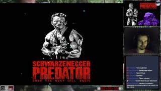 Хищник | Predator прохождение 100% | Игра на (Dendy, Nes, Famicom, 8 bit). Cтрим HD [RUS]