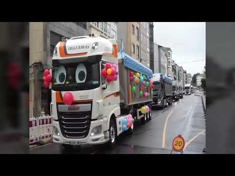 Más de 200 vehículos participan en la Festa do Camioneiro de As Pontes