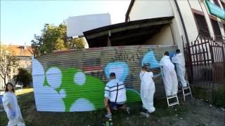 #43 Занятия граффити для детей / Warsztaty graffiti dla dzieci(Наши контакты: e-mail: bagszone@ukr.net Viber: +38 067 886 82 84 (Только для связи по Viber!), 2016-08-29T09:25:14.000Z)