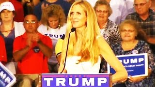 Ann Coulter Turns On Trump: 'Moving Money From One Swamp To Another'