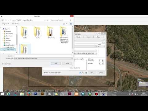 Intelligence Operations: Downloading Satellite Image for Intellegence analysis Airport Case Study
