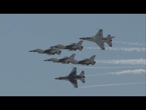 2017 Atlantic City Airshow - USAF Thunderbirds